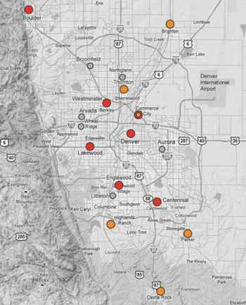 Denver Metro 					Business Centers